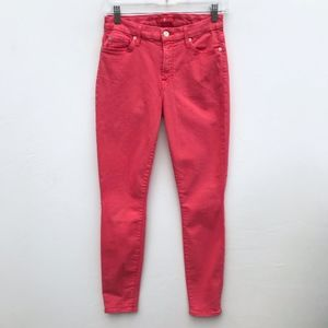 7 For All Mankind Skinny Jeans Pink #1799